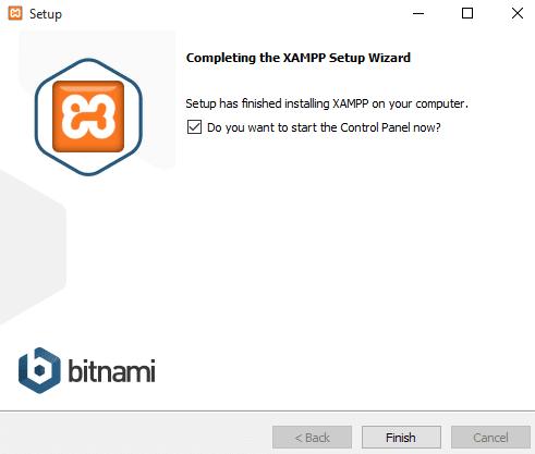 Install xampp7