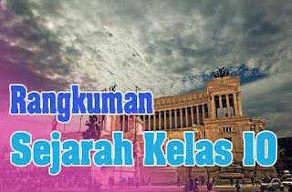 Rangkuman Sejarah Kelas 10 Tentang Kehidupan Awal Masyarakat Indonesia