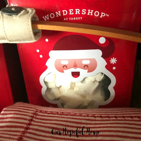 red box santa marshmallows Target Wondershop