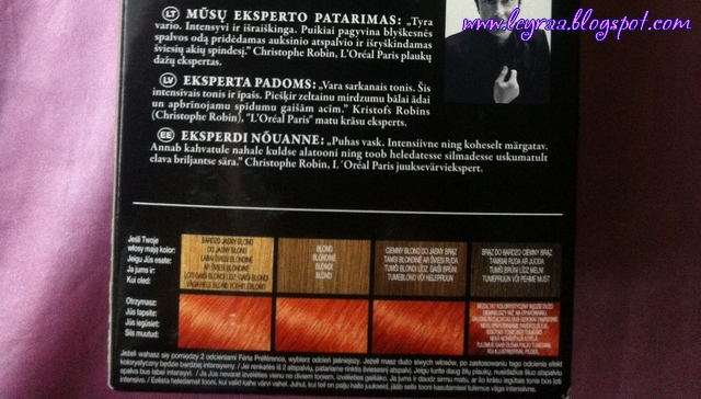 L'oreal Feria Preference P78 Pure Paprika Bardzo Intensywna Miedź