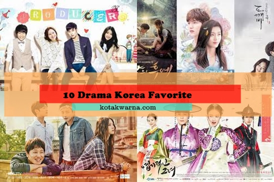 10 Drama Korea Favorite