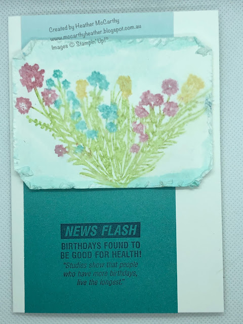 Corners Bouquet, Approaching Perfection, Stampin' Up!
