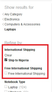 INTERNATIONAL SHIPPING requirements