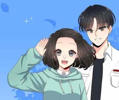 Webtoon Kisah Bucin di Sekolah Full Episode