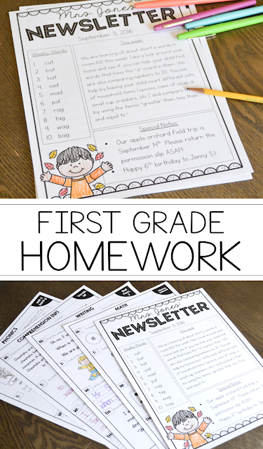 week 1 hw graded So glad you like the 2nd grade homework we have plans to make 3rd grade homework (as well as morning work) but are working on 1st grade resources right now follow our blog, or follow us on tpt or facebook to get the updates.