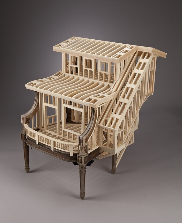 22-Sit-Stay-Ted-Lott-Architecture-in-Upcycled-Furniture-and-Suitcase-Sculptures-www-designstack-co