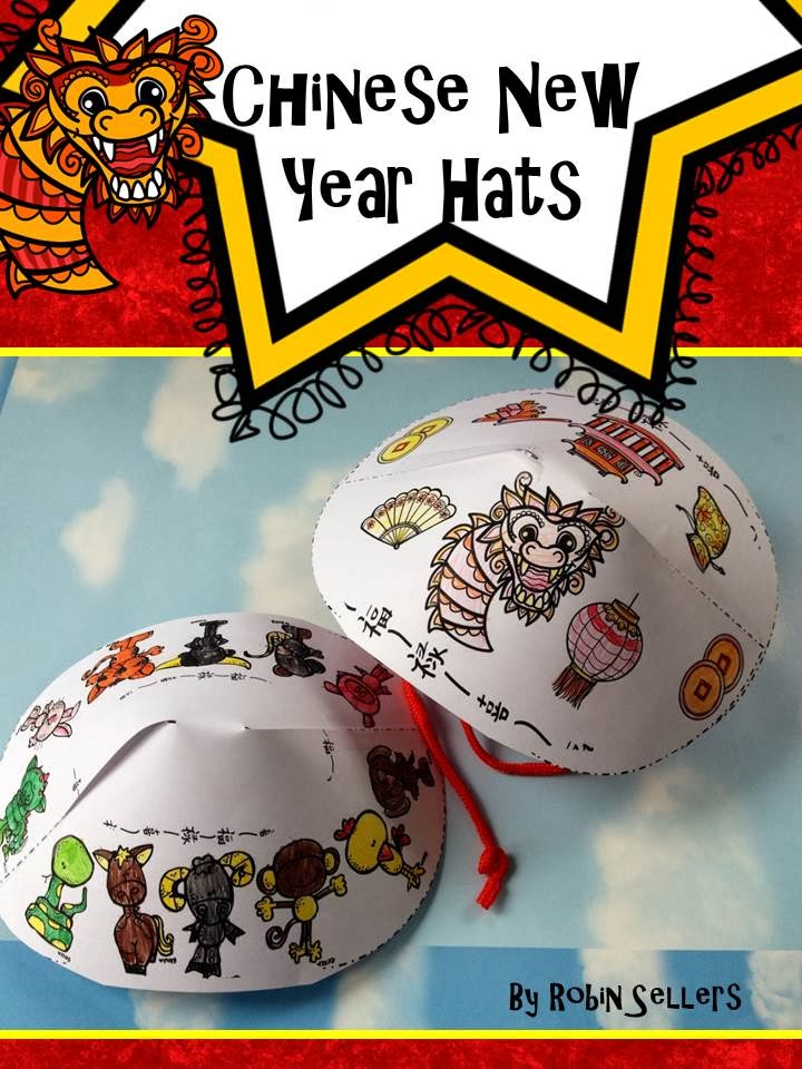 Chinese new year hats