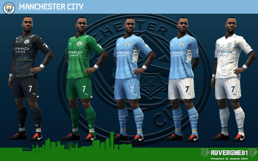 Kits Manchester City 2021-2022 For PES 2013