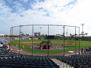 Home to center, brighthouse field