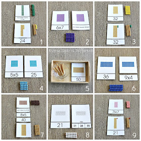 9 Ways to Practice Multiplication Facts the Montessori Way