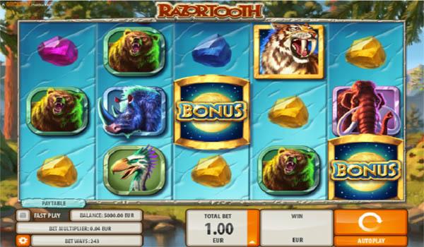 Main Slot Gratis Indonesia - Razortooth (Quickspin)