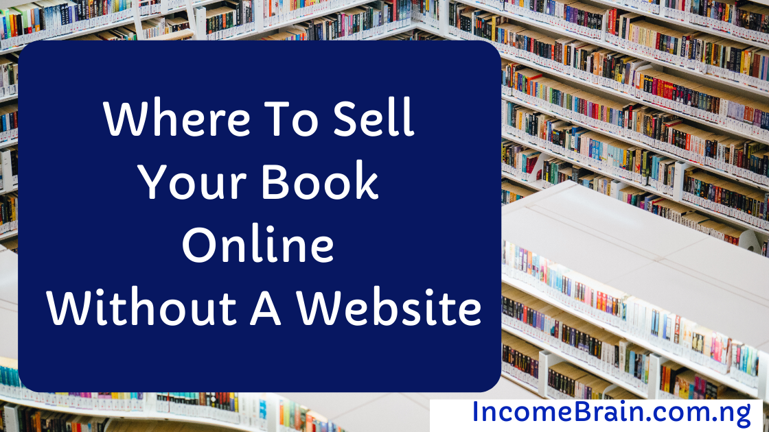 Where To Sell Your Book Online