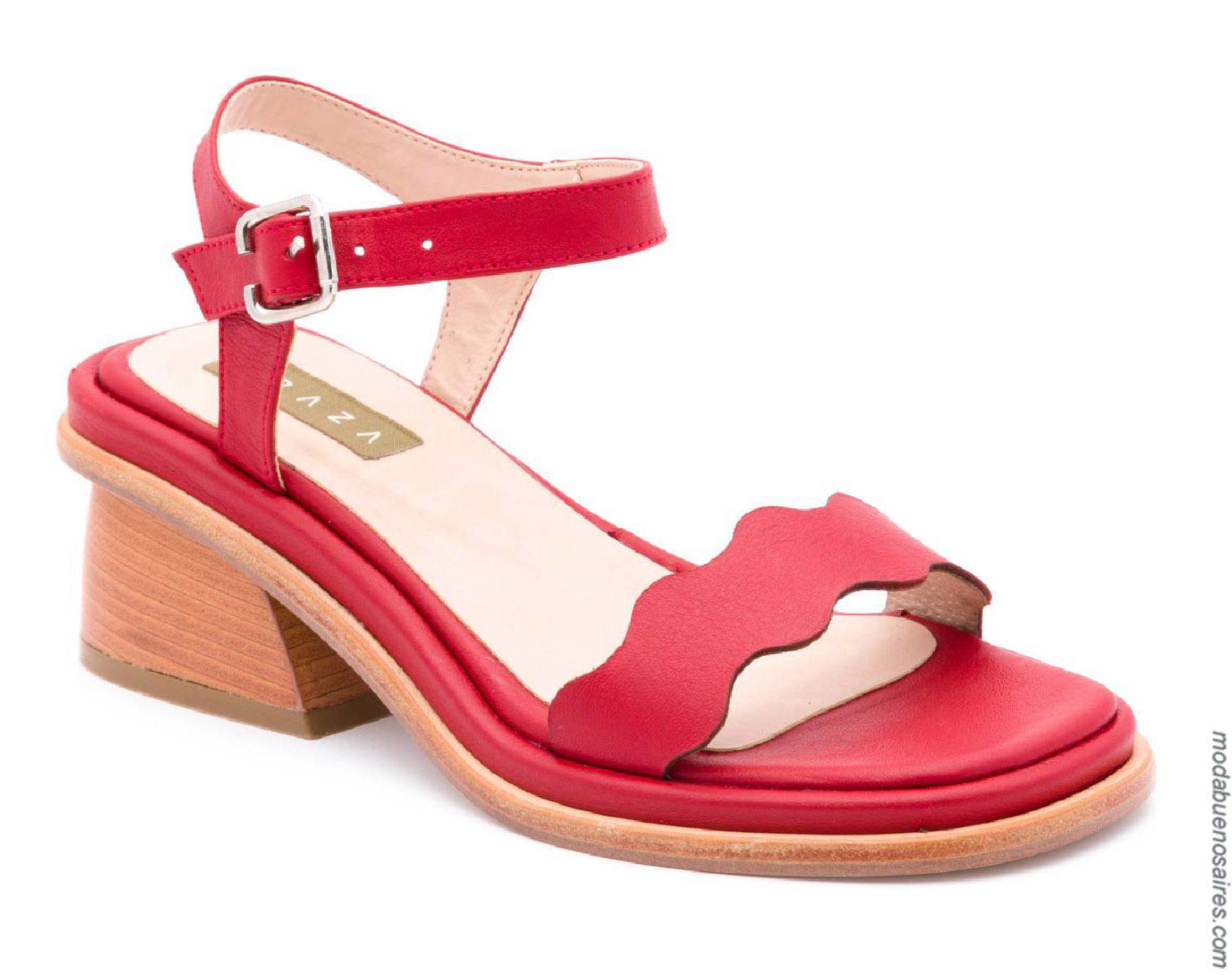 Moda calzados primavera verano 2020. Sandalias primavera verano 2020.