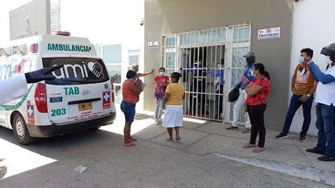 """""""En Puerto Giraldo"""" tanque de acetileno se le salio la válvula, Una niña de 8 años de edad, está en mal estado de salud."""