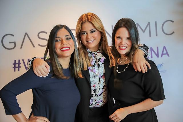 Victoria Naut, Evelyn Betancourt y Rita García