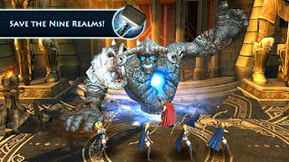 Adalah sebuah game hack and slash hasil kerja sama antara Marvel dengan Gameloft Unduh Game Android Gratis Thor The Dark World apk + obb