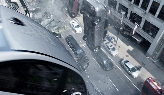 Fast & Furious 8 Car Rain