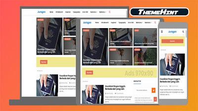 Juragan Premium Blogger Template by Kamran Jaisak