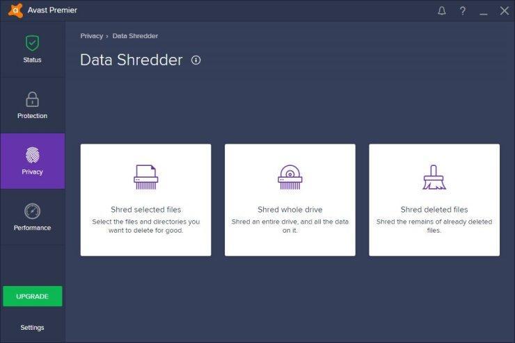 535428 avast premier 2017 data shredder