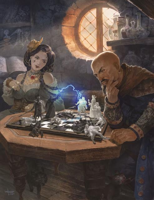 Reseña D&D - Tasha's Cauldron of Everything - Tasha y Mordenkainen