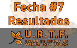 [URTF] Resultados Fecha #7 - Torneo Inicial 2016