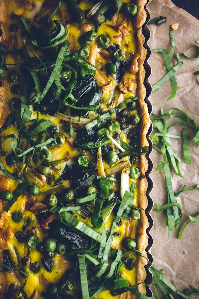 Loaded Vegetable Spring Quiche Recipe