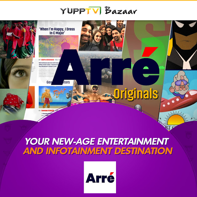 Arre on YuppTV Bazaar