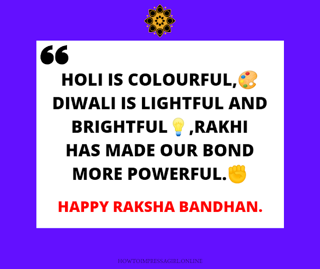 Raksha Bandhan Quotes, Wishes, Status, Shayari, Images 2019