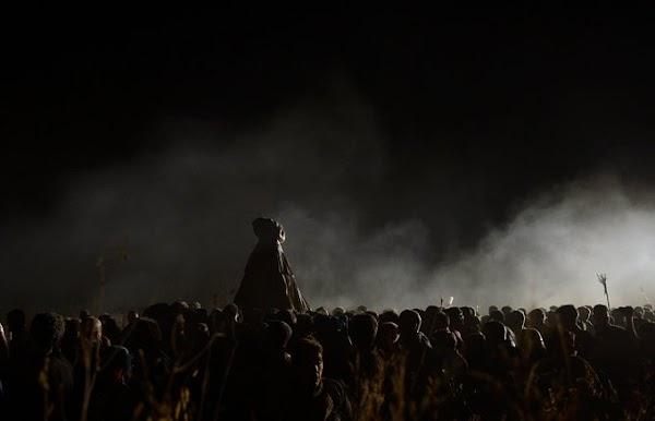 Una fotografía del traslado de la Virgen del Rocío a Almonte, premio 'Andalucía' de Periodismo de la Junta de Andalucía