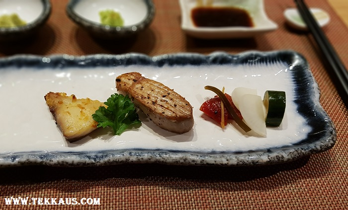 Miyabi Sheraton PJ-Grilled Ikejime Barramundi with Kyoto Miso