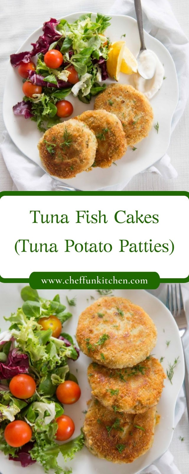 Tuna Fish Cakes (Tuna Potato Patties)