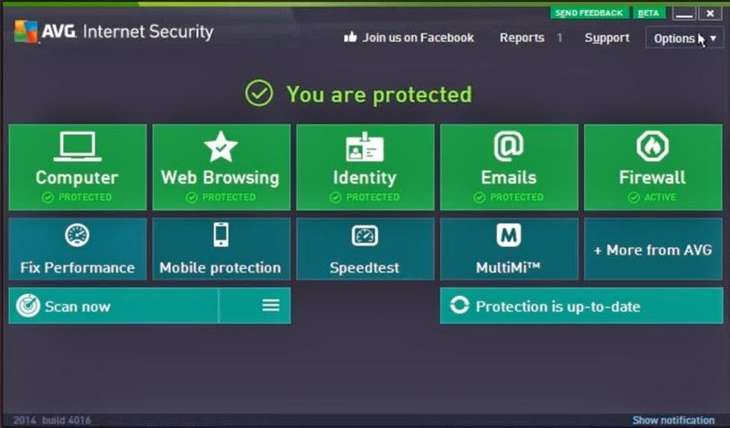 Serial key sangat penting pada software dan game populer di dunia Update Serial Key Number AVG Antivirus 2014