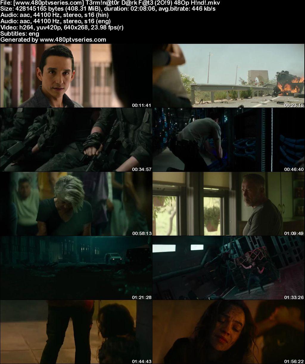 Terminator: Dark Fate (2019) 400MB Full Hindi Dual Audio Movie Download 480p Web-DL Free Watch Online Full Movie Download Worldfree4u 9xmovies