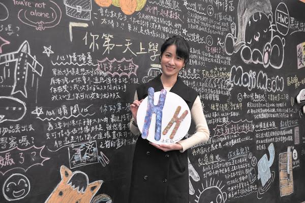 連俞涵31日前往「嘿!小唐我在這」大眾展,一圓擔任導覽員的夢想