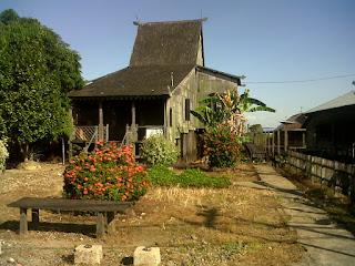 Rumah Adat Bubungan Tinggi di Desa Habirau Nagara