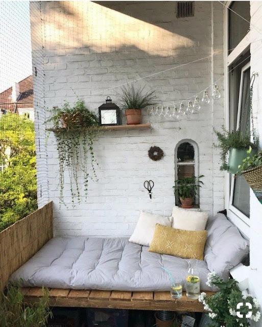 Modern Balkon Dekorasyonu Modelleri