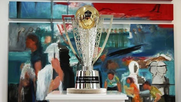 Şampiyonluk kupası sergilendi