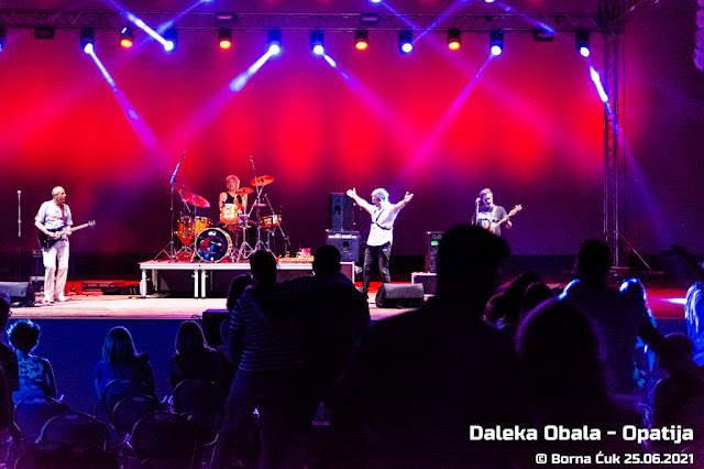 Koncert: Daleka obala, Ljetna pozornica Opatija 25.06.2021