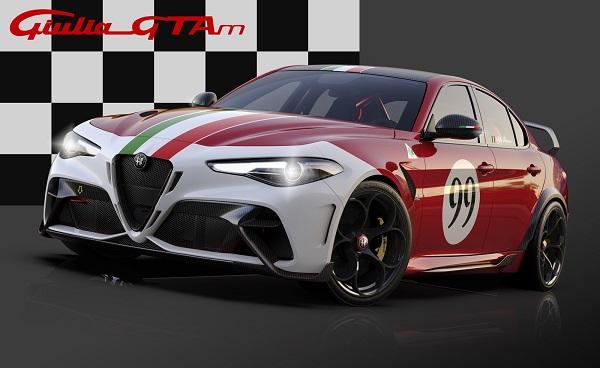 Alfa Romeo Giulia GTAm 2020