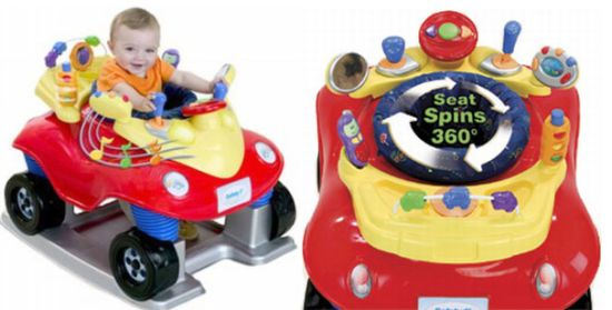 Safety First Rockin Jitterbuggy Exersaucer Jumperoo Why
