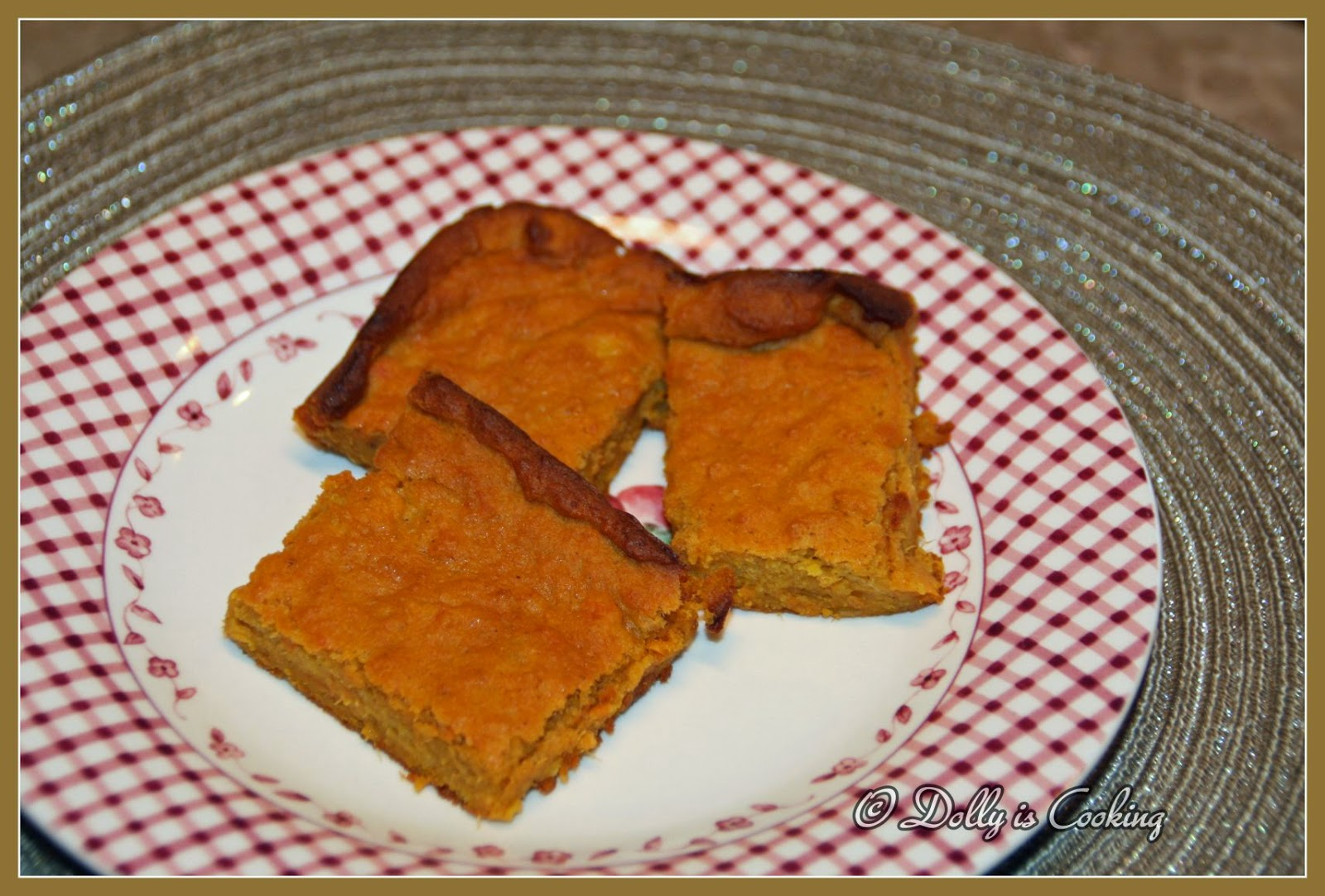 Dolly Is Cooking: Sweet Potato Pudding
