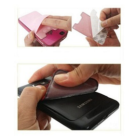 Attain Increased Source Of Information With Stick On Card Holder Elastic-Lycra-Cell-Phone-Wallet-Case-Credit-ID-Card-Holder-Pocket-Stick-On-3M-Adhesive-Black