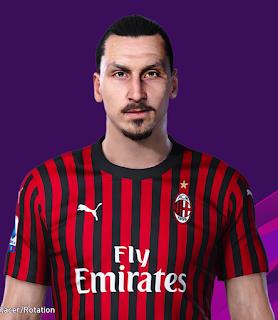 PES 2020 Faces Zlatan Ibrahimović