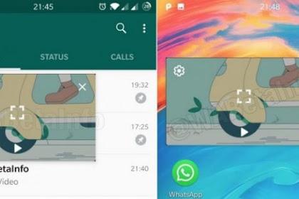 WhatsApp Android Versi Beta Terbaru Bawa Peningkatan Mode PiP