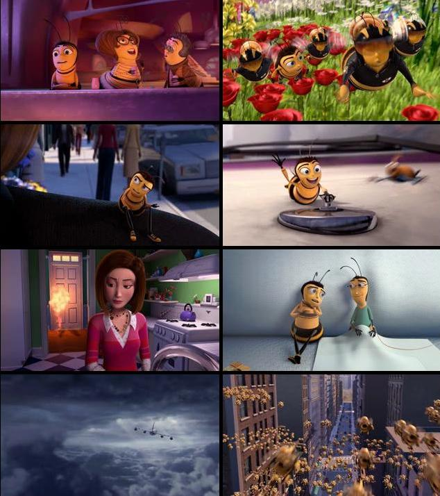 Bee Movie 2007 Dual Audio Hindi 480p BRRip