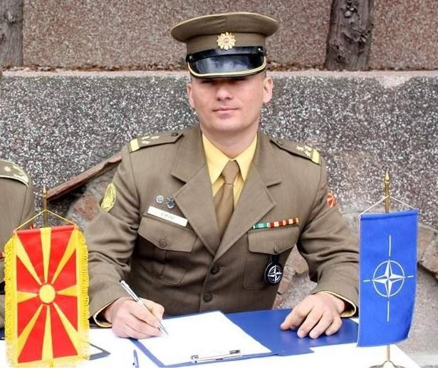 Besnik Emini, the first Albanian commander in North Macedonia army