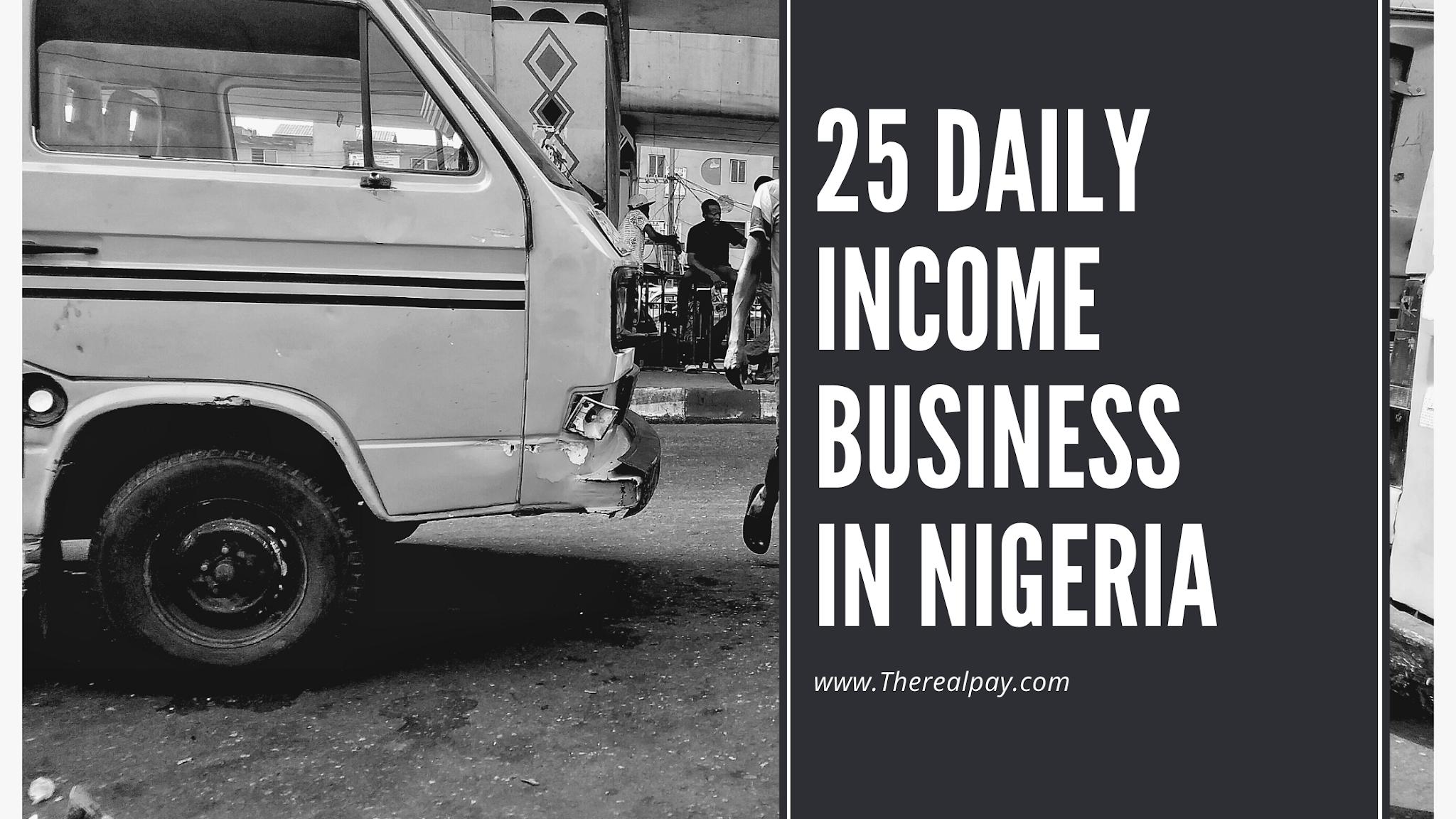 profitable daily income in nigeria