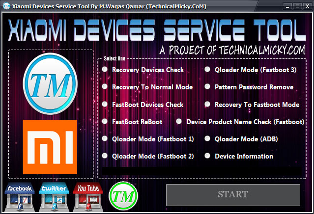 Xiaomi Devices Service Tool Free Download