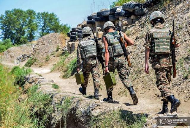 Aumentan el sueldo para los soldados de Armenia