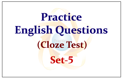 Practice English Questions set-5